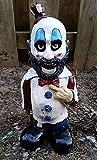 Gnomo de Jardín de Película de Terror - Gnomo de Letreros de Killer Gardens - Gnomo de Terror de Pesadilla - Escultura de Halloween Gnomo para Jardín al Aire Libre, Patio, Patio O Césped (Color : B)