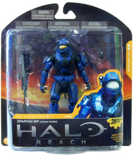 McFarlane Toys Halo Reach Series 3 Spartan Military Police Custom (Male) Action Figure