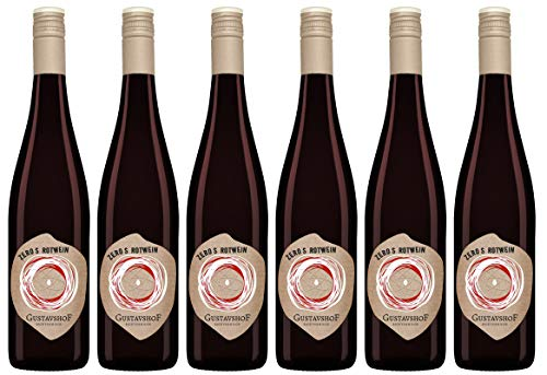 Weingut Gustavshof: 6 Flaschen ZeroS ein jugendlicher Rotwein für den alltäglichen Genuss. Ohne Schwefelzusatz, Demeter zertifiziert.