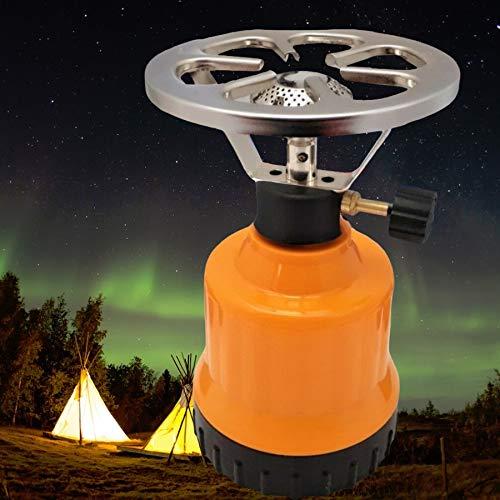 Megaprom E190 Gaskocher | Campingkocher | Kochplatte mit Kochaufsatz | Camping Kocher Set