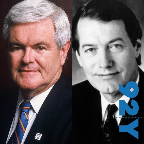 Newt Gingrich with Charlie Rose at the 92nd Street Y audiobook cover art