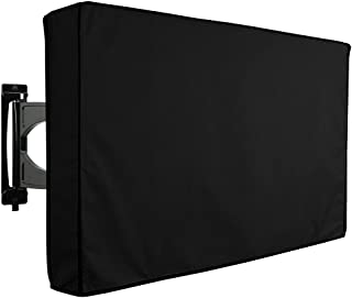 """Docooler Outdoor TV Cover 60"""" - 65"""" Waterproof Dustproof Television Protector Remote Control Pocket Bottom Cover for LED L..."""