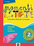 momenti d'estate. il tuo libro attivo per le vacanze. per la scuola media (vol. 2)