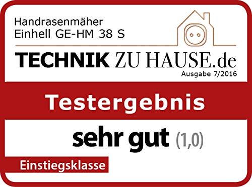 Einhell GE-HM 38 S | Nachlaufmäher | Handrasenmäher - 12