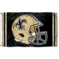 WinCraft New Orleans Saints New Helmet Grommet Pole Flag