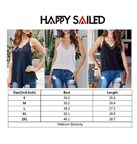 Happy-Sailed-Women-Halter-Tank-Tops-Lace-Crochet-V-Neck-Strappy-Loose-Camisole-Vests-Shirt