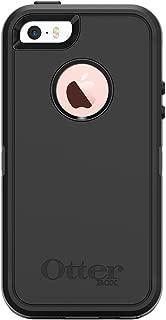 OtterBox DEFENDER SERIES Case for iPhone 5/5s/SE - Frustration Free Packaging - BLACK