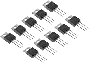 Bridgold 10pcs IRLB8721PBF IRLB8721 N Channel MOSFET Transistor, 30V,62A, TO-220,3-Pin