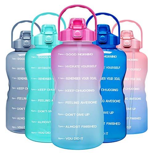 Venture Pal 1 Gallon Large Motivational Sports Water...