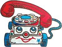 アイロンワッペン【ChatterTelephone】 チャッター・テレフォン キャラクターワッペン