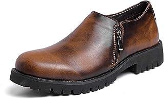 [Hardy] ビジネス メンズ シューズ 防滑 軽量 ドライビング 通気 カジュアル 革靴 ハイキング