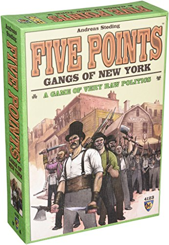 Mayfair Games Five Points Gangs of New York Jeu de société