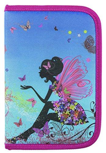 Idena 241124 - Schüleretui Flower Fairy 50 teilig