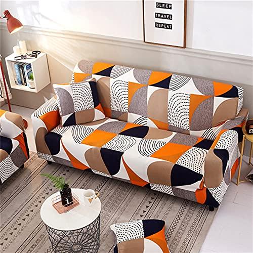 LIWENFU Sofaabdeckung Geometrische elastische Sofaabdeckungen für Wohnzimmer Moderne Sektionale Ecke Sofa Cover Slipcover Couch Cover Chair Protector