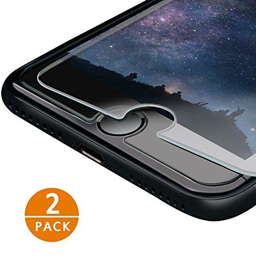 iPhone 7 Pellicola Protettiva IZUKU 2 Pack Pellicola Vetro Temperato Screen Protector Film Ultra Resistente (0.26mm HD Alta Trasparenza) per iPhone 7