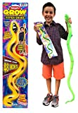 Magic Grow Snake (Pack of 1) and one Bouncy Ball by 2Chill   Grows Up to 48 Inches Great Snake Toy Party Favor   Item #311-1