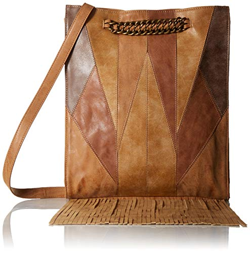 Circus by Sam Edelman Jethro Patchwork Crossbody, Brown