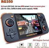Finelyty Retro Games Upgrade Consola de Juegos Consola de Juegos portátil RG350 IPS