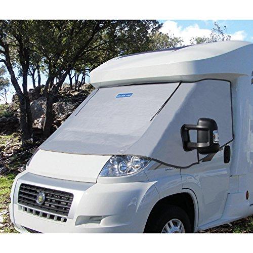 Motorhome Externe Zip Draai Omlaag Thermische Cabine Scherm Voor Ford Transit 2006-2014 Campervan Voorruit Cover