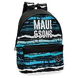 Maui And Sons Waves - Mochila, 42 cm, Multicolor