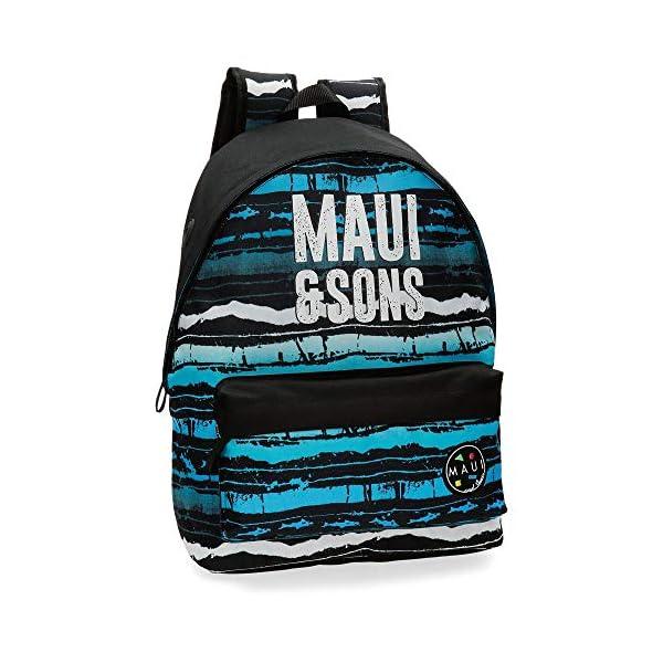 51LjnV5XzYL. SS600  - Maui And Sons Waves - Mochila, 42 cm, Multicolor