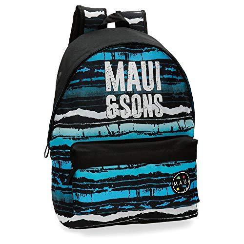 51LjnV5XzYL - Maui And Sons Waves - Mochila, 42 cm, Multicolor