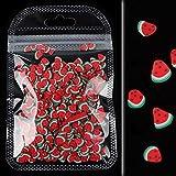 10g/Bolsa 3D Colorido Pequeñas Rebanadas de Frutas Lentejuelas para Uñas DIY Diseño Acrílico Belleza Polímero Arcilla Nail Art Accesorios-no.9