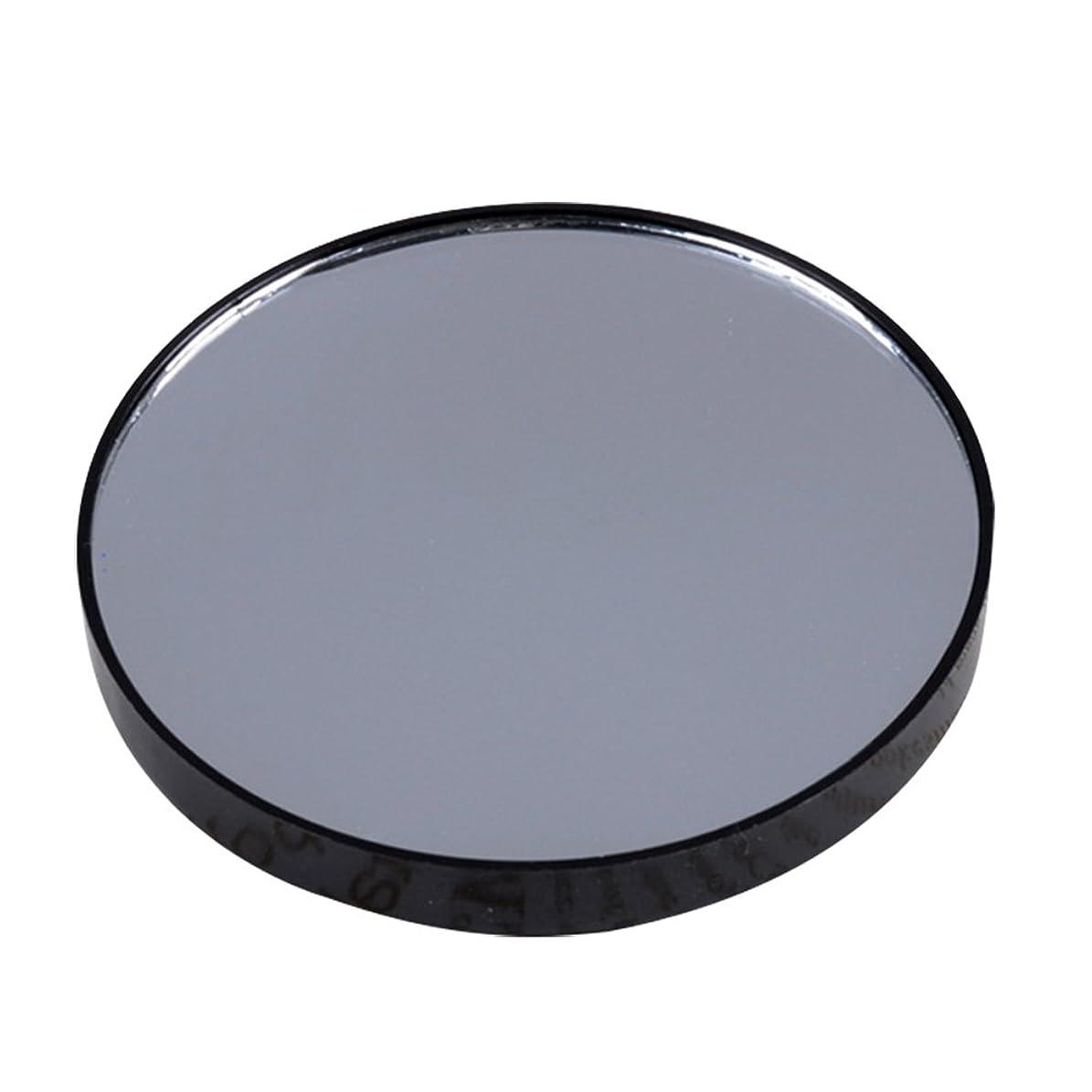 行動肥沃な継続中YideaHome メイクアップミラー 化粧鏡 拡大鏡 5倍 10倍 15倍 強力吸盤付き メイクミラー 化粧ミラー (10倍)