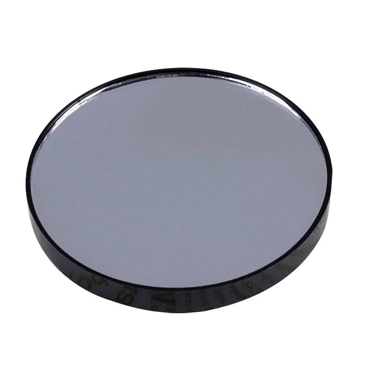 拳顎ブルジョンYideaHome メイクアップミラー 化粧鏡 拡大鏡 5倍 10倍 15倍 強力吸盤付き メイクミラー 化粧ミラー (5倍)