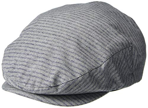 Brixton Men's Hooligan Driver SNAP HAT, Grey/Navy, L