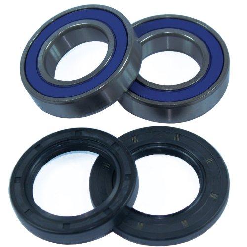 Caltric Rear Wheel Ball Bearings & Seals Kit Compatible with Yamaha Raptor 80 Yfm80 2002-2008