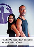 Exercise for back pain sufferers