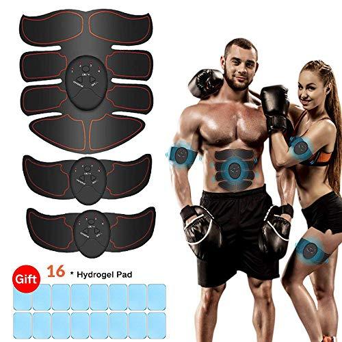 Breett Electroestimulador Muscular, Estimulador Abdominal,