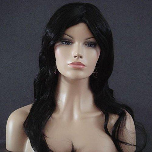 Wigs Women Long Black Trendy (perruque)