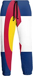 NTQFY Colorado Flag (3) Men's Sweatpants Comfy Jogger Pants with Pockets Lightweight Athletic Pant