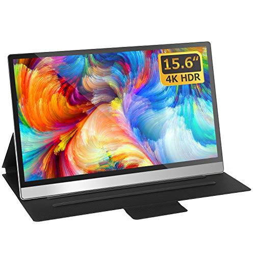 4K Portable Monitor,15.6 inch USB C External Monitor Gaming Display Portable Monitor 3840 x 2160 UHD...