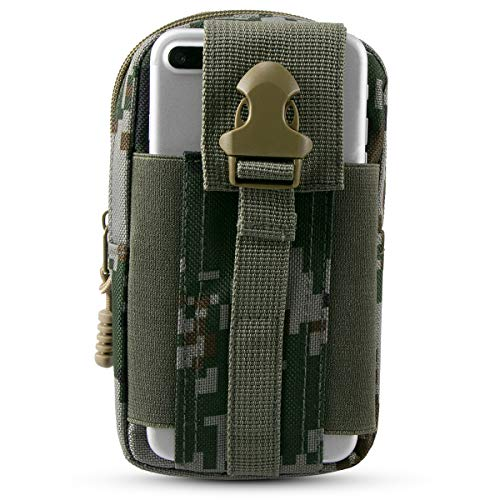Xidan Tactical Smartphone EDC Sicherheitspaket Loops Gürteltasche