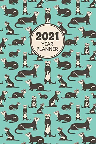 Ferret Planner 2021. Ferret Pattern: UK Holiday Edition. 6