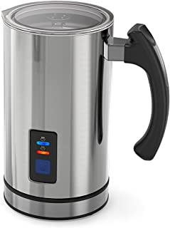 Milk Frother Automatic Electric Stainless Steel Milk Steamer for Coffee, Frother Warmer, Hot Chocolates Cappuccino, Automa...