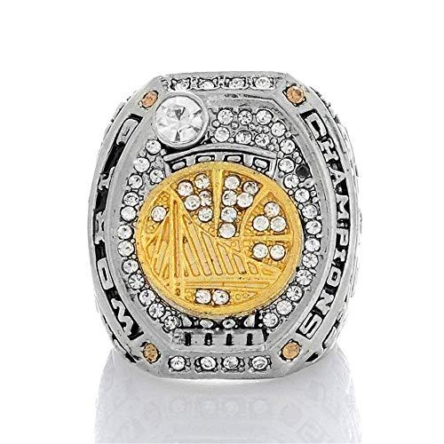 Stijlvolle Eenvoud Legering Ringen voor Man, 2017 Golden State Warriors Curry Collection Ring met Zirkonia, 13, N-J 13