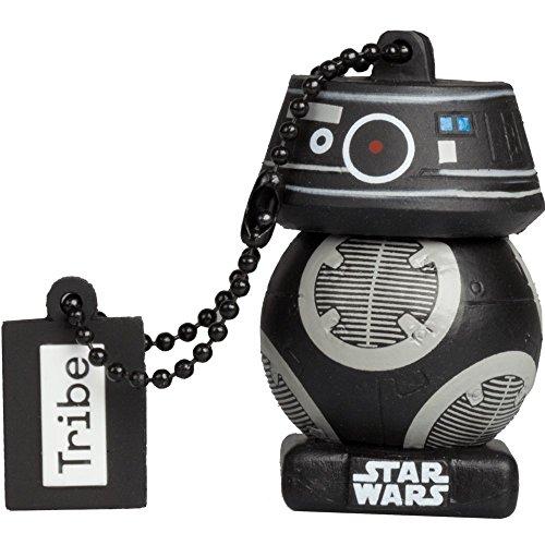 Llave USB 16 GB First Order BB Unit TLJ - Memoria Flash Drive 2.0 Original Star Wars, Tribe FD030512