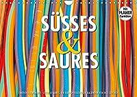 Emotionale Momente: Suesses und Saures. (Wandkalender 2022 DIN A4 quer): Ein kariesverdaechtiger und farbenfroher Planer fuer alle die gerne naschen. (Geburtstagskalender, 14 Seiten )