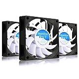 AABCOOLING Super Silent Fan 7 - Un Silencioso y Muy Efectivo Ventilador 70mm para Impresora 3D, Ventiladores, Base Ventilador 7cm, Fan PC, 29m3/h, 2000 RPM - 3 Piezas 17,3 dB(A)