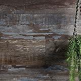 バスパネル 壁パネル 浴室 お風呂 木目調 壁材 ウォールデコッシュ オールドラシーヌ 10枚入り CSZ 壁用 壁面化粧 簡単シール