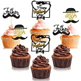 Abundant quantity: the package contains 36 pieces Father's Day themed cupcake toppers in 3 different styles, and 12 pieces in each style, abundant quantity and various styles can meet your party decoration needs, helping create an unforgettable party...