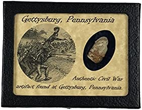 Shot Civil War Bullet from Gettysburg, Pennsylvania with Certificate of Authenticity
