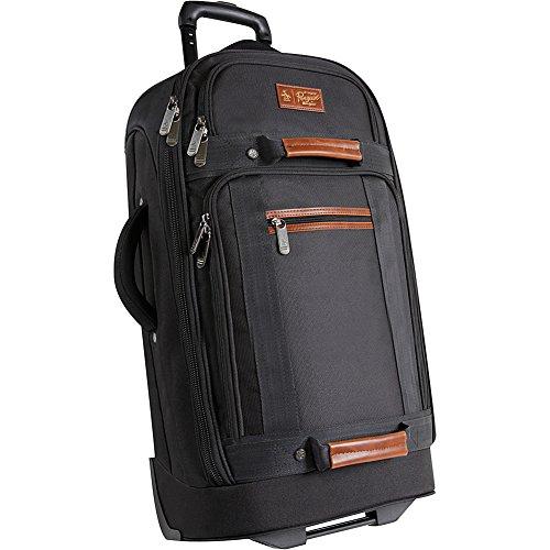 ORIGINAL PENGUIN Luggage 30' Large Rolling Duffel Bag, Black, One Size