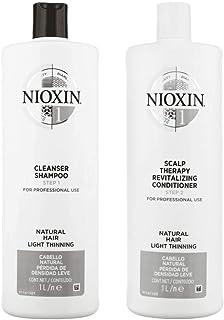 Nioxin Sistema 1limpiador & cuero cabelludo Terapia normal fino pelo Duo Set 338oz