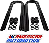 American Automotive 1980-1996 Bronco 2WD/ 4WD 1-2' Rear Lift U Bolts 11' Extra Long OEM Material