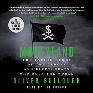 Moneyland audiobook cover art